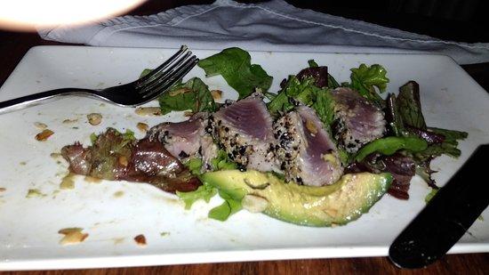 Prana Rainforest Retreat: Seared Sesame crusted Tuna!!! I ate half before I took photo!!! The best food ever!