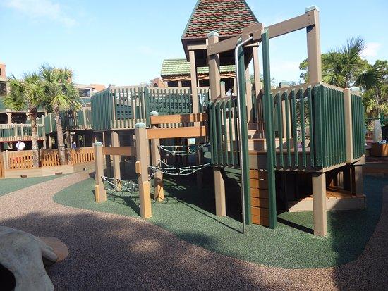 Sugar Sand Park: Great climbing features