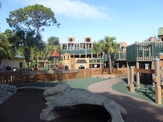 Sugar Sand Park: Great toddler area.