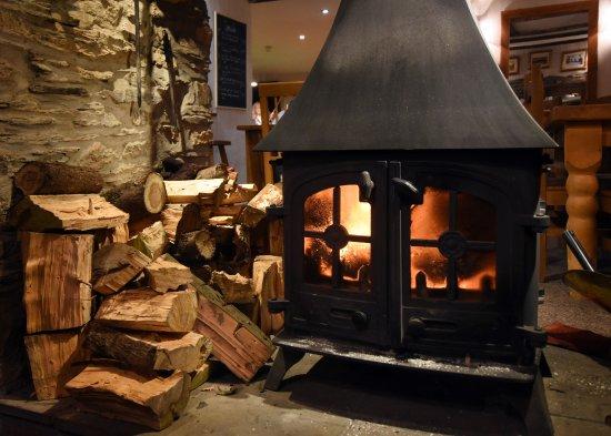 "West Down, UK: ""Wood Burner"""