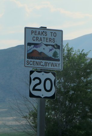 Carey, ID: Byway Sign
