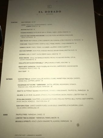 El Dorado Kitchen Sonoma Menu Prices Restaurant Reviews Tripadvisor