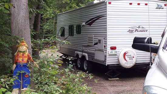 Port Elgin, Canada: Fall campsite