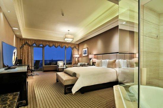 Jianyang, Kina: Guest room