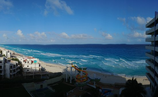 Crown Paradise Club Cancun: View from balcony on 1511