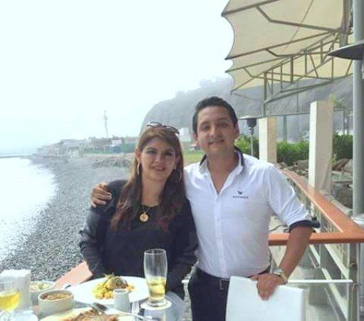 Cala Restaurante: Con Jaime Alcántara Alegría, Regional Sales Manager Productos Paraíso del Perú, gracias me quede