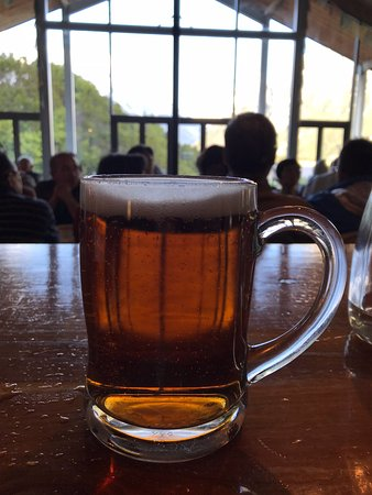 Old Mountaineers' Cafe, Bar and Restaurant : A cold beer after a hike