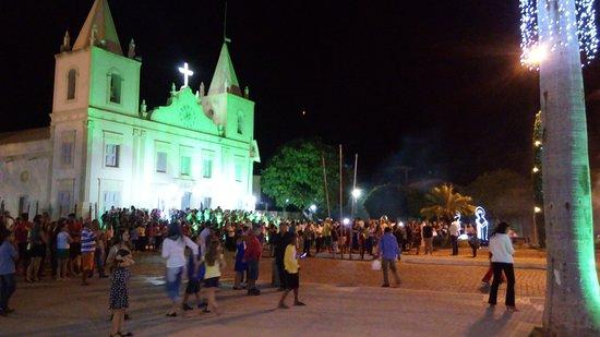 Nossa Senhora da Imaculada Conceição Church: Vista lateral/frontal da Igreja Matriz de N.S. da Imaculada Conceição