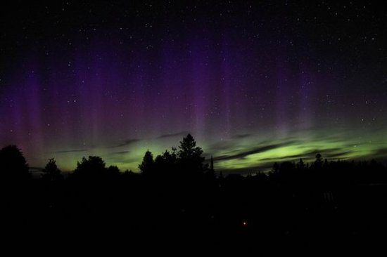 Gordon's Park: Northern lights from the dark sky preserve