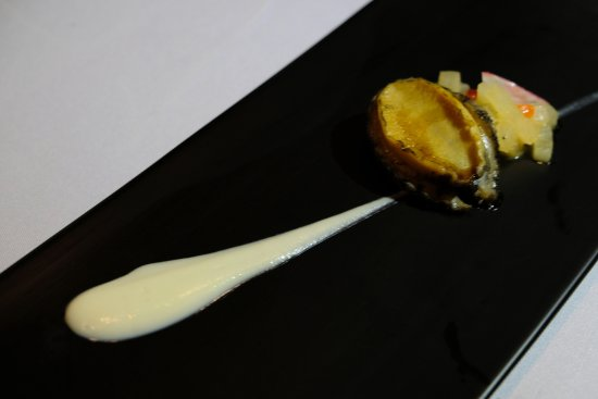 N Grill : braised abalone