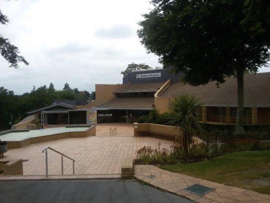 Waikato Museum: Fachada