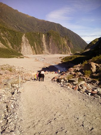Fox Glacier Hiking Trails : Gravel trail