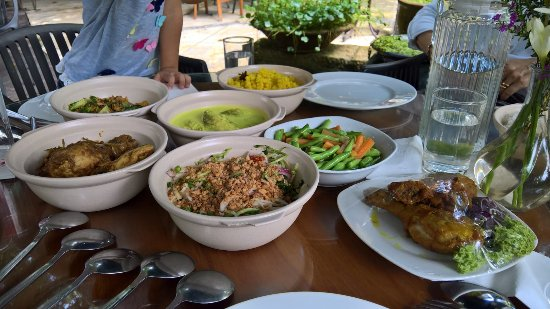 The Dusun: The amazing food!