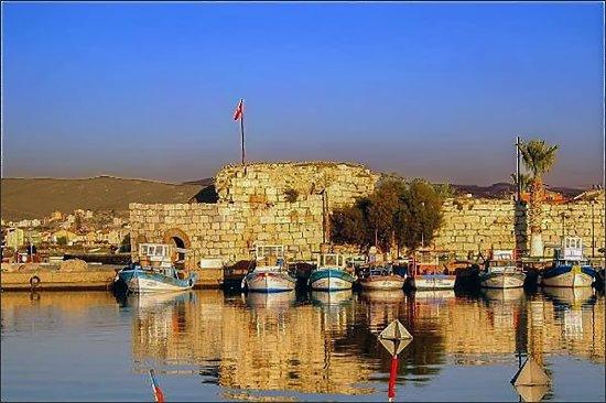 Seferihisar, Turquia: View from the sea