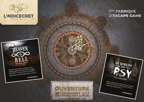 L'Indicecret Escape Game