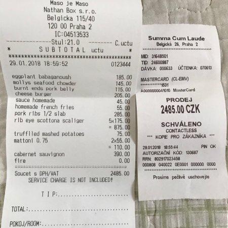 Summa Cum Laude Praha Recenze Restaurace Tripadvisor