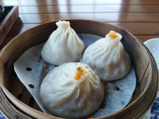 Miàn Diàn - Hyatt Regency Wuxi: The crab Xiao Long Bao were especially nice.