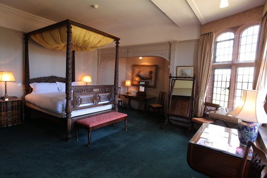 Thornton Hough, UK: Tower Bedroom