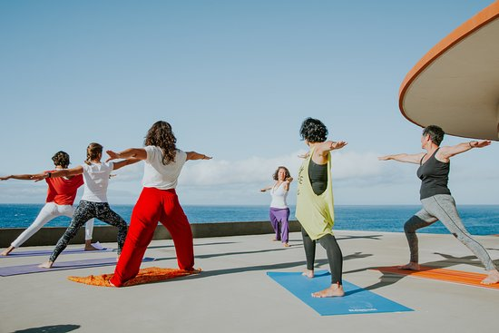 Machico, Portugal: Yoga with Ocean View