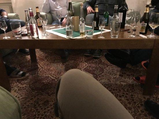 Wennigsen, Alemania: 饭后喝酒聊天