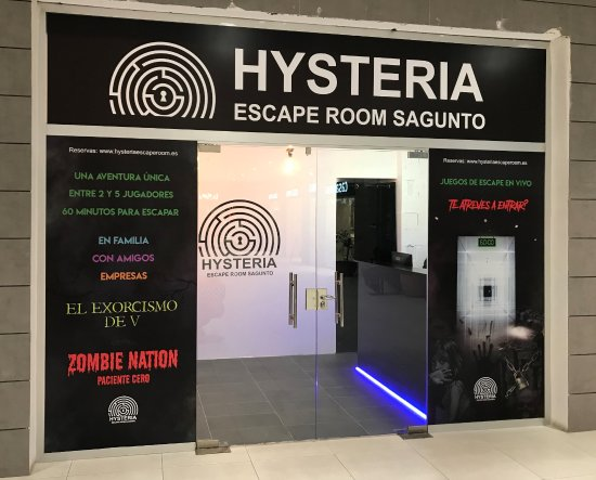 ‪Hysteria Escape Room‬