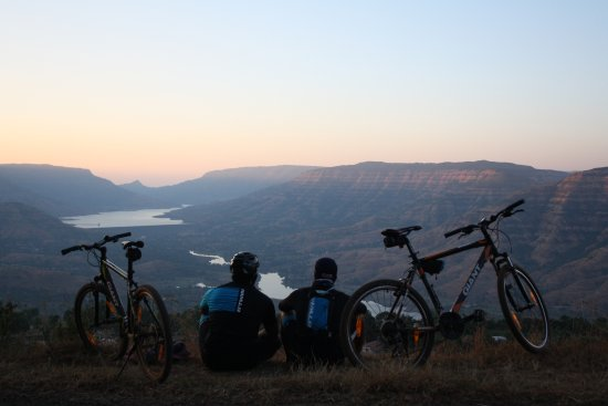 Panchgani, India: sunset point