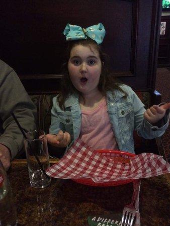 Aldgate, Australia: Kids meal aftermath!