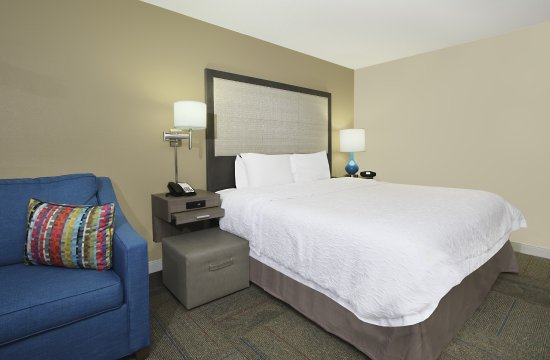 Madison, GA: King Bed with Sofa Bed