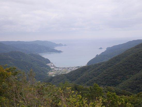 Mt. Yudake Lookout: 油井展望所からの眺め
