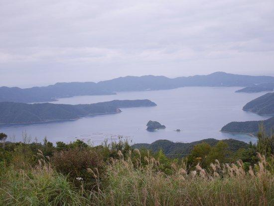 Mt. Yudake Lookout: 油井展望所からの景色