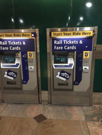 Tickets - Picture of Seattle Light Rail Service - TripAdvisor