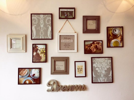 Dreams feature wall - Picture of Dreams Coffee Lounge, Northampton ...