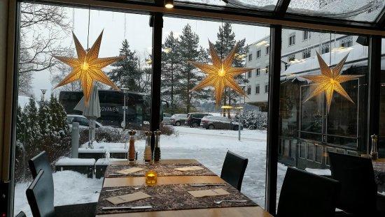 Radisson Blu Hotel, Espoo: View from breakfast room