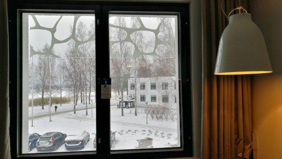 Radisson Blu Hotel, Espoo: View from Standard room #217