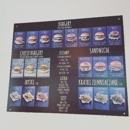 Zaawansowane Burger Park menu - Picture of Burger Park Torun, Torun - TripAdvisor OR81