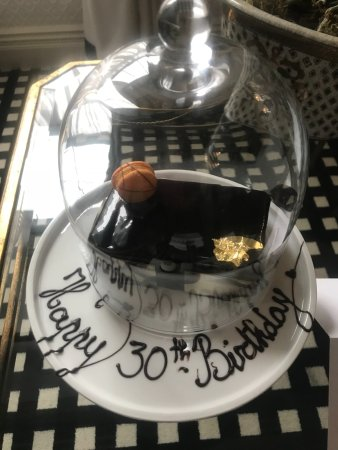 Beautiful Chocolate Birthday Cake Picture Of Hotel 41 London