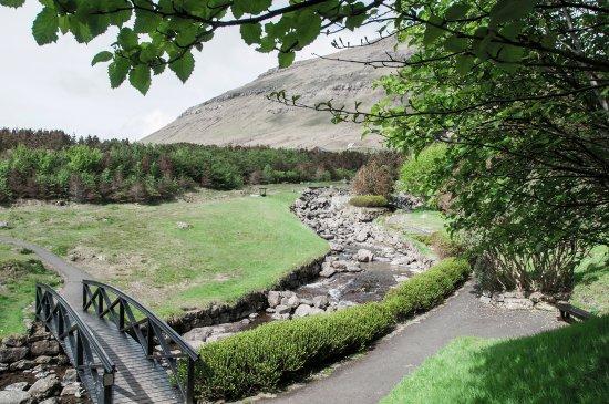 """Klaksvik, Faroe Islands: Viðarlundin """"Úti í Grøv"""""""