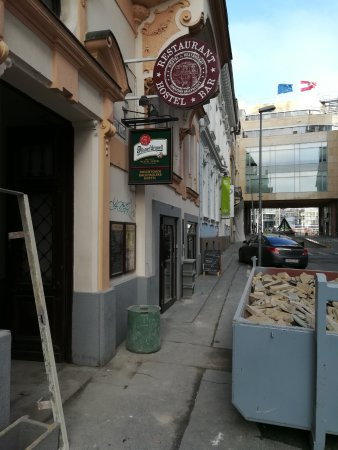 Downtown Backpackers Hostel: Ongoing construction