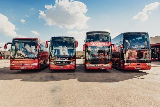Altamura, Italia: Flotta di proprietà con 170 autobus