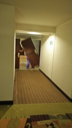 Barcelo San Jose: I Had To Take The Picture, Loudly Removing Doors At 7