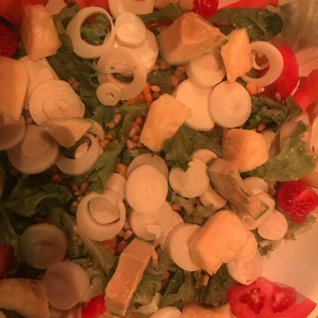 Zoo Rock Café : Salade tropicale