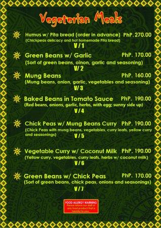 Brujita Bar and Restaurant: Vegetarian