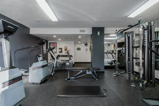 Fitness area picture of hotel faubourg montreal montreal
