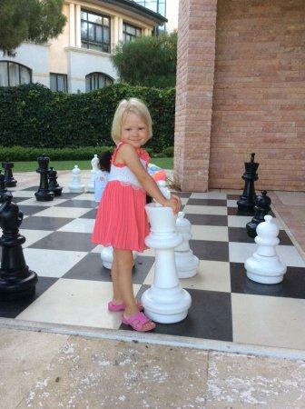 Cornelia De Luxe Resort: Шахматная партия