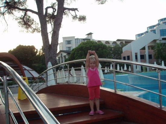 Cornelia De Luxe Resort: Мостик