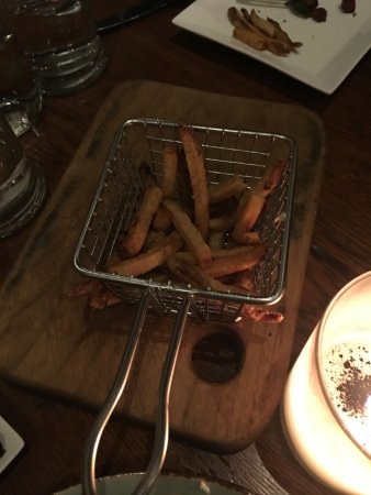 Bernardston, MA: mostly eaten french fries