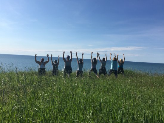 Fair Haven, NY: Yoga Hike at Sterling Nature Center June 2017