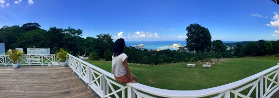 Peat Taylor Tours : Beautiful View of Ochos Rios from higher up!