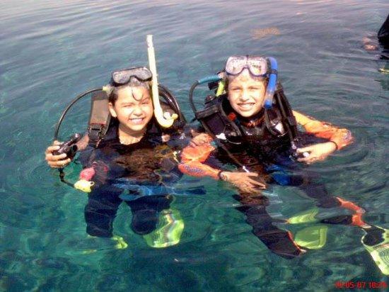 Tamiahua, Mexico: Iniciando buceo en Isla Lobos
