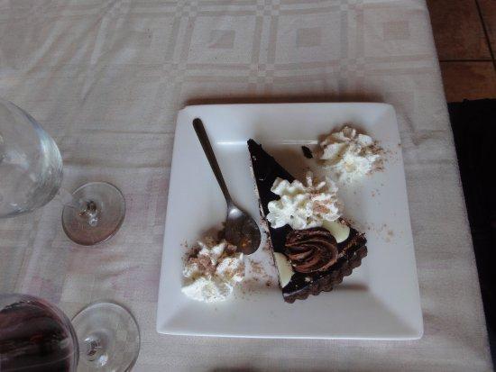 Sant Joan les Fonts, Испания: Pastel de chocolate